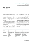 """Báo cáo y học: """"Institute of Ophthalmology, University """"La Sapienza"""" of Rome (Italy) Published: 2009.03.19"""""""