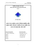 Bài tập nhóm: PHÂN TÍCH NHỮNG NHÂN TỐ ẢNH HƯỞNG ĐẾN NHẬN THỨC VỀ PHÁT TRIỂN KĨ NĂNG MỀM CỦA SINH VIÊN ĐẠI HỌC CẦN THƠ