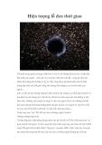 Hiện tượng lỗ đen thời gian