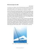 Bài toán tam giác vật chất