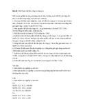 Giải bài tập kế toán tài chính