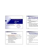 Lập Trình Hướng Đối Tượng (Object-oriented Programming) 1