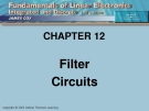 CHAPTER 12: Filter Circuits