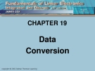 CHAPTER 19: Data Conversion