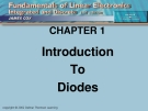 CHAPTER 1 : Introduction To Diodes