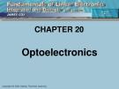 CHAPTER 20: Optoelectronics.