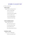 Ngữ pháp Tiếng Anh thông dụng: SỐ NHIỀU CỦA DANH TỪ KÉP