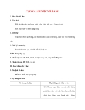 Giáo án Tin Học lớp 10: TẠO VÀ LÀM VIỆC VỚI BẢNG