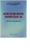 Khoa học công nghệ và môi trường thành phố Đà Nắng 1997 - 2001 part 1