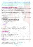Các phương pháp tìm nghiệm của phương trình phi tuyến