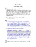 Bài tập kinh tế vi mô - Mô hình Mundell - Fleming