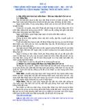 Bài 13: Tình hình Việt Nam sau hiệp định Giơ - ne - vơ và nhiệm vụ cách mạng thời kì đổi mới 1954 - 1975