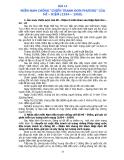 Bài 14: Miền Nam chống chiến tranh đơn phương của Mĩ Diệm năm 1954 - 1960