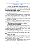 Bài 18: Miền Nam chống chiến tranh cục bộ của Mĩ (1965 - 1968)