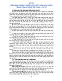 Bài 20: Miền Nam chống chiến lược Việt Nam hóa chiến tranh của đế quốc Mĩ năm 1969 - 1973