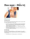 Đau ngực - Điều trị