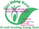 Thực trạng giao thông Việt Nam và Giải pháp
