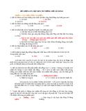 ĐỀ ÔN THAM KHẢO MÔN TƯ TƯỞNG HỒ CHÍ MINH