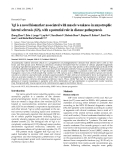 "Báo cáo y học: "" Vgf is a novel biomarker associated with muscle weakness in amyotrophic lateral sclerosis (ALS), with a potential role in disease pathogenesis"""