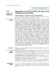 """Báo cáo y học: """"Management of Critically Ill Patients with Severe Acute Respiratory Syndrome (SARS)"""""""