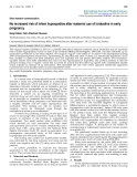 "Báo cáo y học: ""No increased risk of infant hypospadias after maternal use of loratadine in early pregnancy"""