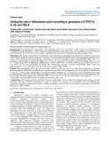 """Báo cáo y học: """" Eradication rate of Helicobacter pylori according to genotypes of CYP2C19, IL-1B, and TNF"""""""