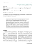 """Báo cáo y học: """" Differentiation of convulsive syncope from epilepsy with an implantable loop recorder Khalil Kanjwal, Beverly Karabin, Yousuf Kanjwal, Blair P Grubb"""""""