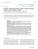 """Báo cáo y học: """"Weight loss, leukopenia and thrombocytopenia associated with sustained virologic response to Hepatitis C treatmen"""""""