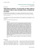 """Báo cáo y học: """"NITRIC OXIDE (NO), CITRULLINE – NO CYCLE ENZYMES, GLUTAMINE SYNTHETASE AND OXIDATIVE STRESS IN ANOXIA (HYPOBARIC HYPOXIA) AND REPERFUSION IN RAT BRAIN"""""""