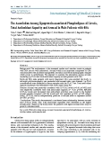 """Báo cáo y học: """"he Association Among Lipoprotein-associated Phospholipase A2 Levels, Total Antioxidant Capacity and Arousal in Male Patients with OS"""""""