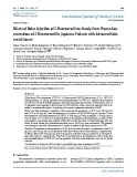 "Báo cáo y học: ""Effects of Bolus Injection of 5-Fluorouracil on Steady-State Plasma Concentrations of 5-Fluorouracil in Japanese Patients with Advanced"""