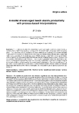 """Báo cáo lâm nghiệp: """"A model of with  even-aged beech stands productivity process-based interpretations"""""""