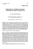 """Báo cáo lâm nghiệp: """"Observations on Armillaria occurrence in declining oak woods of southern Italy"""""""
