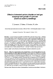 """Báo cáo lâm nghiệp: """"Effects of elevated carbon dioxide on leaf gas exchange and growth of cork-oak (Quercus suber L) seedlings """""""