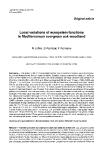 """Báo cáo lâm nghiệp: """"Local variations of ecosystem functions in Mediterranean evergreen oak woodland"""""""