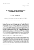 """Báo cáo lâm nghiệp: """" An overview of ecology and silviculture of indigenous oaks in France"""""""
