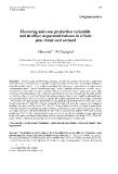 """Báo cáo khoa học: """"Flowering and cone production variability and its effect on parental balance in a Scots pine clonal seed orchard"""""""
