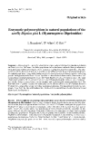 "Báo cáo lâm nghiệp: ""Enzymatic polymorphism in natural populations of the sawfly Diprion pini L (Hymenoptera: Diprionidae) L Beaudoin"""