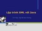 Lập trình XML với Java
