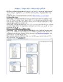 Sử dụng LINQ to SQL