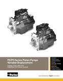 P2/P3 Series Piston Pumps Variable Displacement