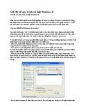 Gỡ rối về quá trình cài đặt Windows 8
