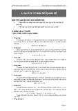Bài tập về quan hệ đại số