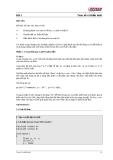Session 05 - Toán tử và Biểu thức - Thực hành