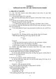 Thống kê doanh nghiệp - Phần 1 Tóm tắt lý thuyết và các bài tập cơ bản - Chương 5