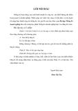 Thống kê doanh nghiệp - Phần mở đầu