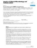 "Báo cáo sinh học: ""Community-acquired MRSA and pig-farming"""