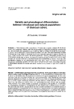 """Báo cáo khoa học: """"Genetic and phenological differentiation between introduced and natural populations of Quercus rubra"""""""