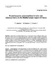 "Báo cáo khoa học: ""Proanthocyanic polymorphism in holm oak (Quercus ilex L) in the Mediterranean region of France"""