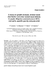 """Báo cáo khoa học: """"A study on growth stresses, tension wood distribution and other related wood defects in poplar (Populus euramericana cv 1214): end splits, specific gravity and pulp yield"""""""